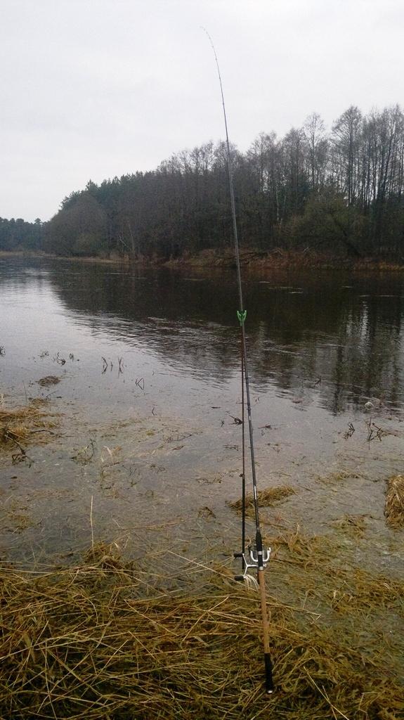 Ловля на фидер ранней весной на реке